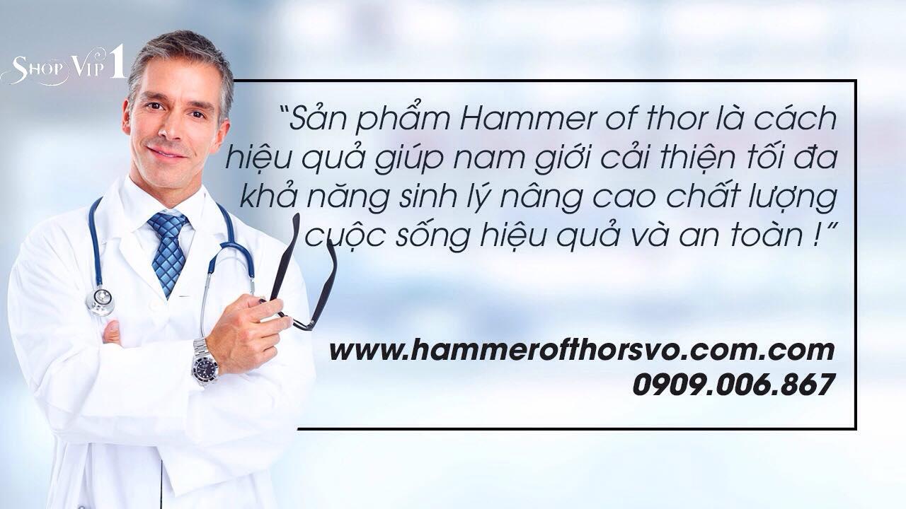 Ý kiến chuyên gia về Hammer of thor