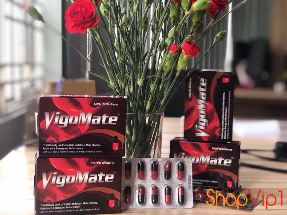 VIgomate cải thiện sinh lý nam giới