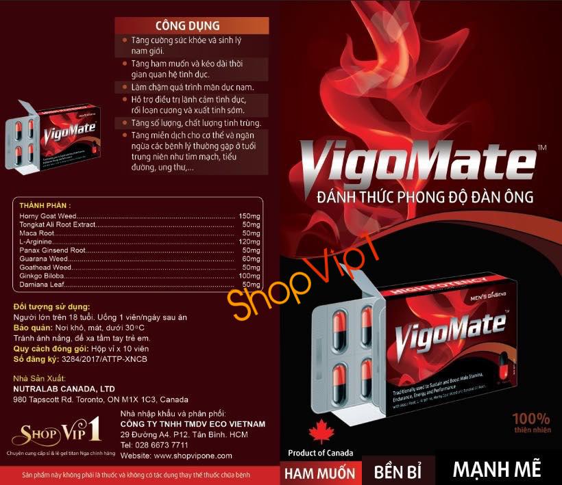 Thuốc cường dương Vigomate