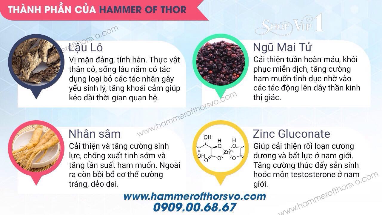 Thành Phần Hammer of thor