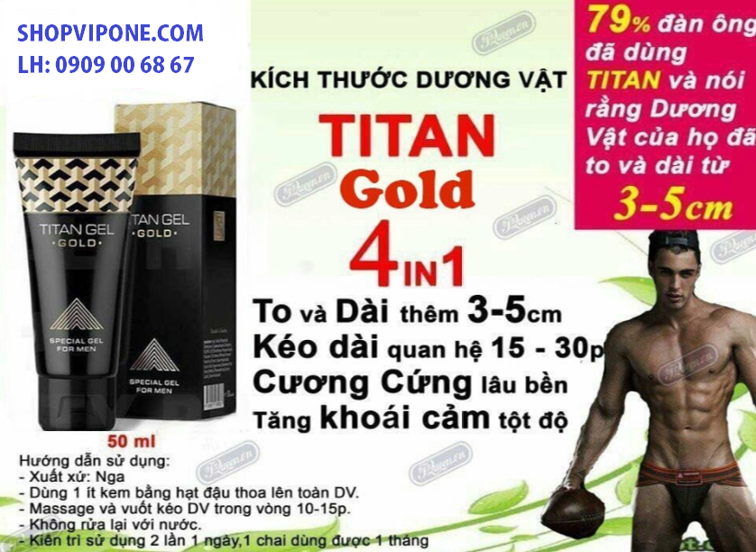 gel titan gold nga