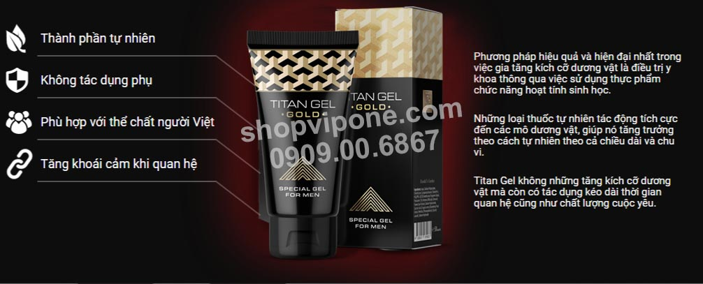 MUA GEL TITAN GOLD