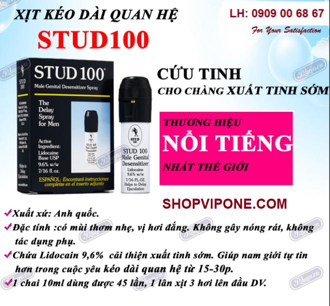 THUỐC XỊT STUD 100 CHÍNH HÃNG
