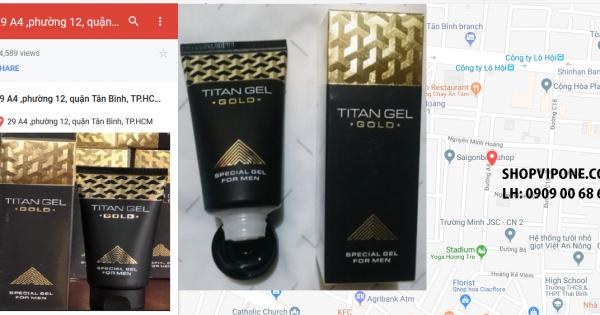 THỰC HƯ VỀ TÁC HẠI CỦA GEL TITAN GOLD NGA CHÍNH HÃNG 2018