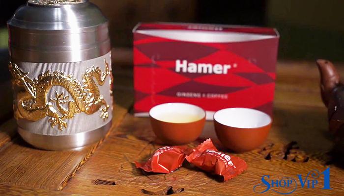 Kẹo sâm Hamer Ginseng Coffee Chính Hãng Mỹ