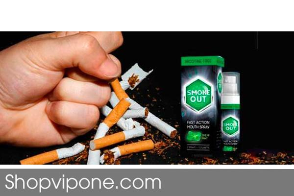 Chai Xịt Smoke Out Cai Thuốc Lá