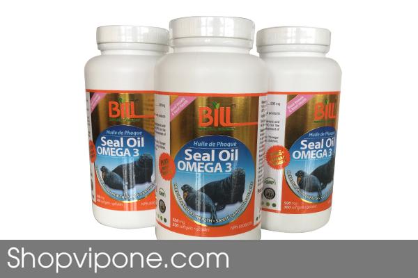 Viên Uống Dầu Hải Cẩu Bill Seal Oil Omega 369