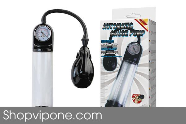Máy Tập Dương Vật Automatic Gauge Pump (Tự động)