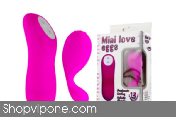 Trứng Rung Tình Yêu Mini Love Đầu Tròn